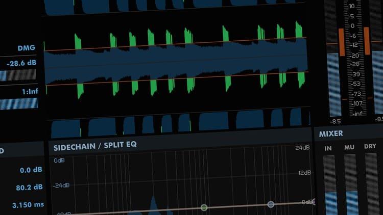 Musikstudio Software - Noise Gate & Expander