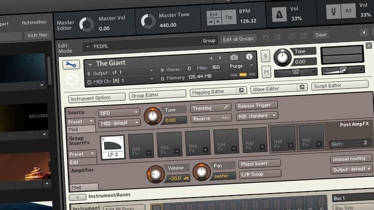 Audiosoftware zur Musikproduktion im Studio - Sampler bzw. Sample Player