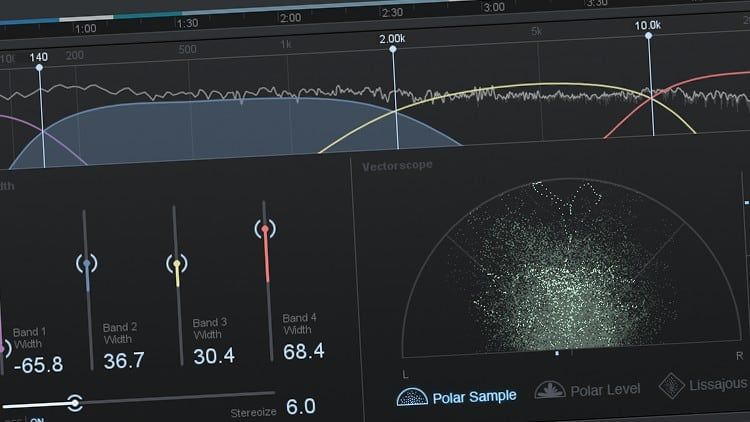 Audio-Software zum Mastering - Stereo Enhancer