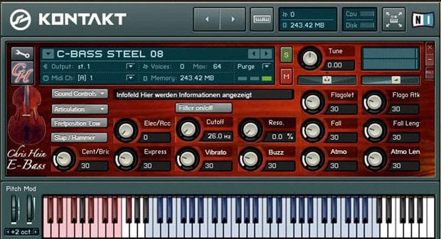 Synthesizer Software und virtuelle Instrumente - Best Service Chris Hein Bass