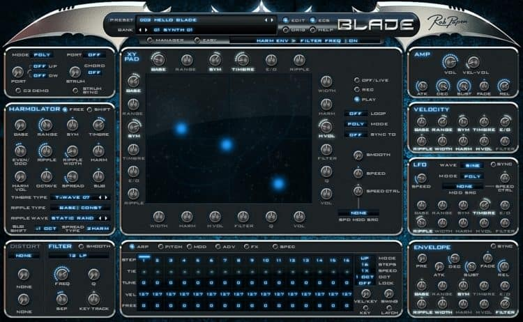 Rob Papen Blade - Synthesizer Software