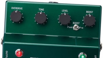 Ibanez TS808DX Overdrive & Booster