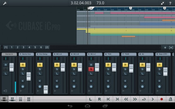 Steinberg Cubase iC Pro für Android