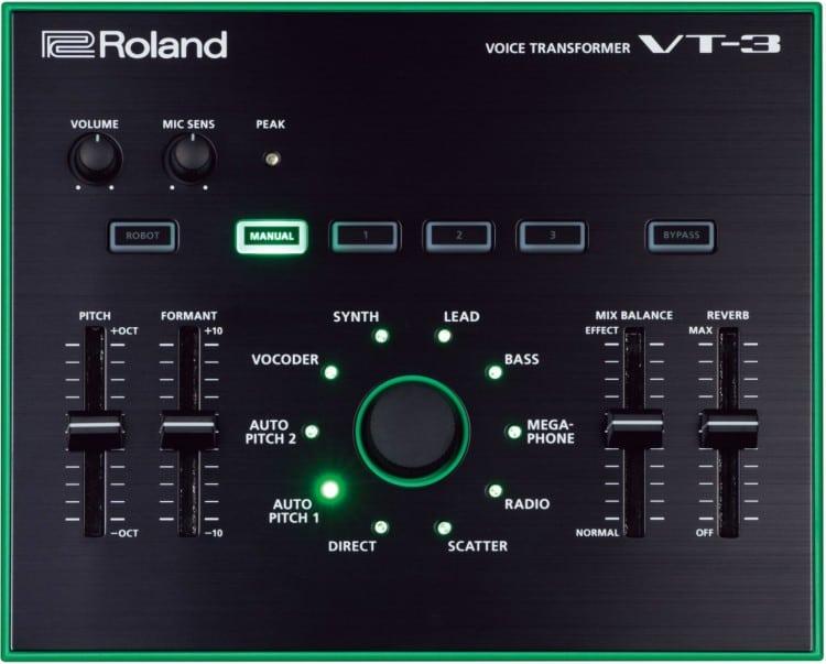 Roland VT-3 Testbericht