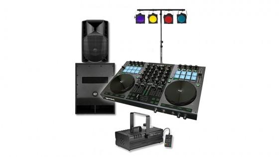 Komplette DJ-Ausrüstung - Alternativset