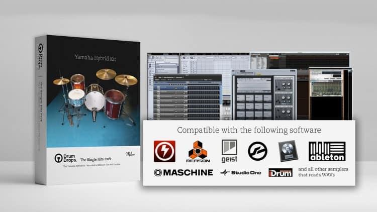 Free Drum Samples: Drumdrops Yamaha Hybrid Kit