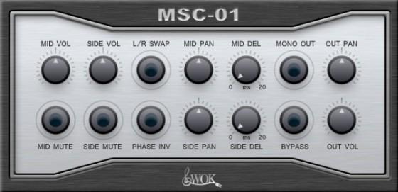 Free VST Plugins: WOK MSC-01
