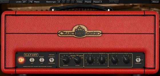 Universal Audio Chandler Limited GAV19T Amplifier Plug-In