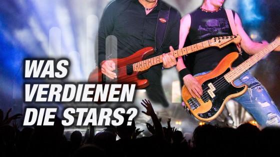 Was verdienen die Stars?