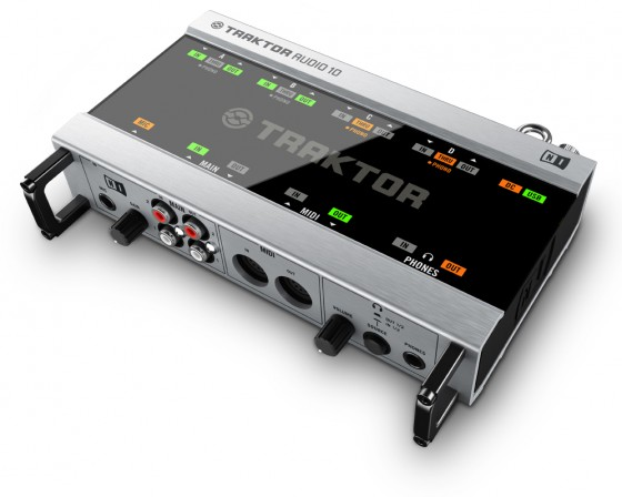 DJ-Zubehör: Native Instruments Traktor Audio 10 DJ Audio Interface