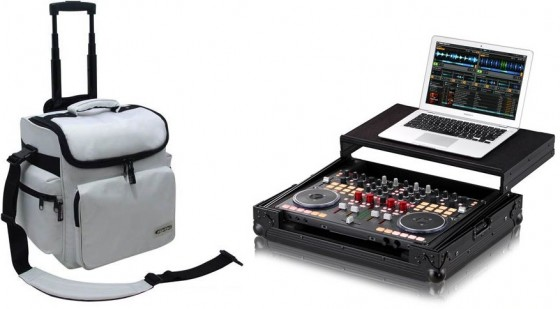 DJ-Zubehör: Zomo DJ-Trolley & Zomo Flightcase VCI-400 plus NSE