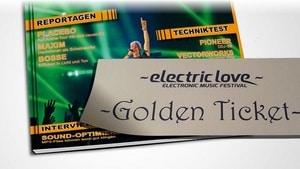 Electric Love - Golden Tickets gewinnen mit EVENT Rookie