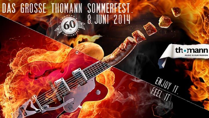 Thomann Sommerfest 2014