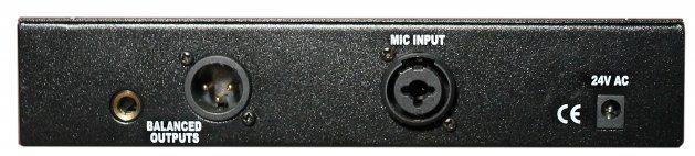 Warm Audio WA12 Review - Rückseite