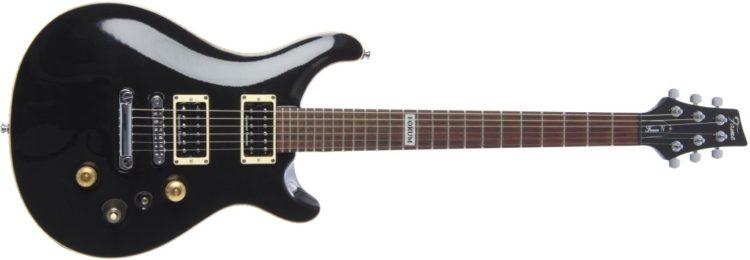 Fame Forum IV SD Testbericht - Die Gitarre in Schwarz (Modell »BK«)
