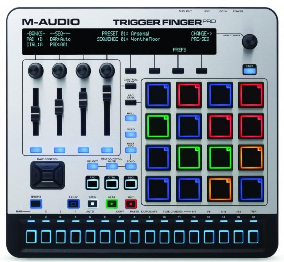 M-Audio Trigger Finger Pro Testbericht