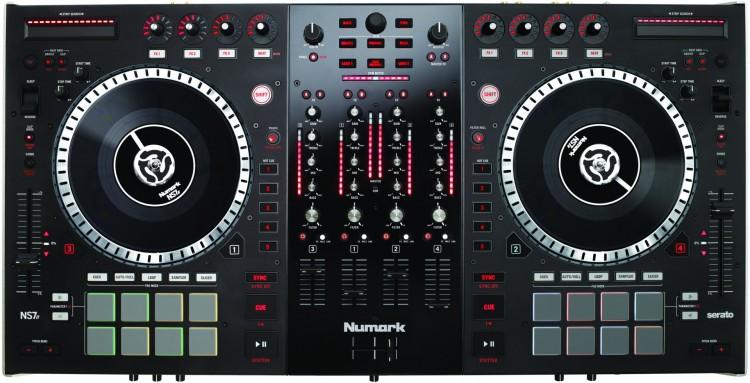Numark NS7 II Test - Der DJ Controller von oben