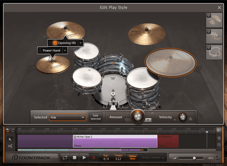 Toontrack EZdrummer 2 Test - Play Style