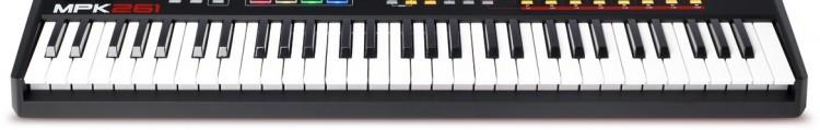 Akai MPK 261 Review - Die Tastatur