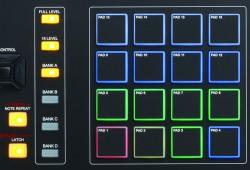 Review des Akai MPK 261 - MPC Pads