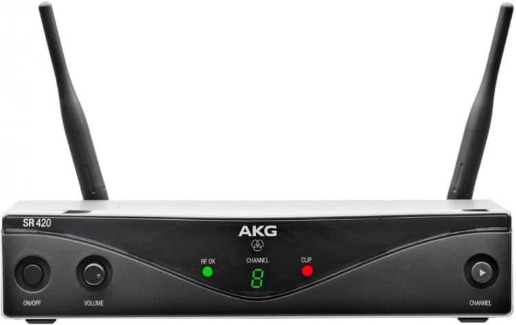 AKG WMS420 Instrumental Review - Der Empfänger