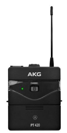 AKG WMS420 Instrumental Test