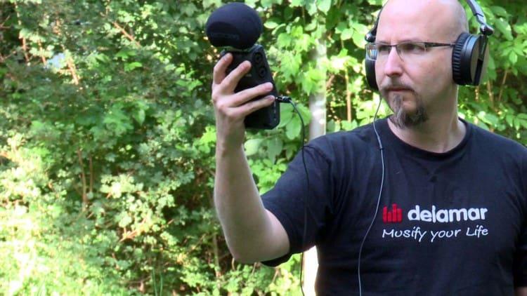 recording vor Ort