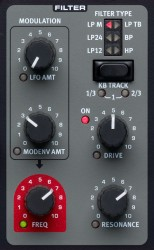 Nord Lead A1 Test - Filter