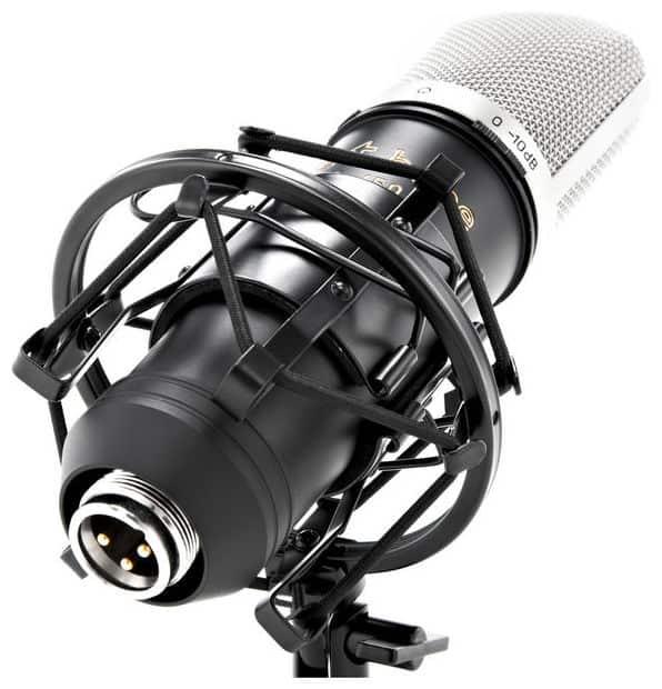 t.bone SC450 Test - Mikrofonspinne