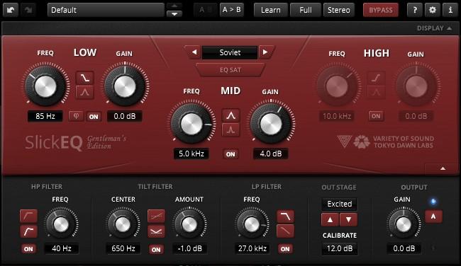TDR VOS SlickEQ GE Review - Soviet Mode