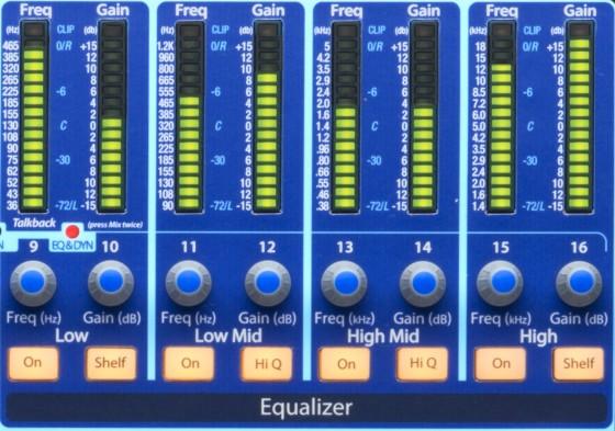 Band Recording - Mischpulte in der Praxis - PreSonus StudioLive 16.4.2AI EQ
