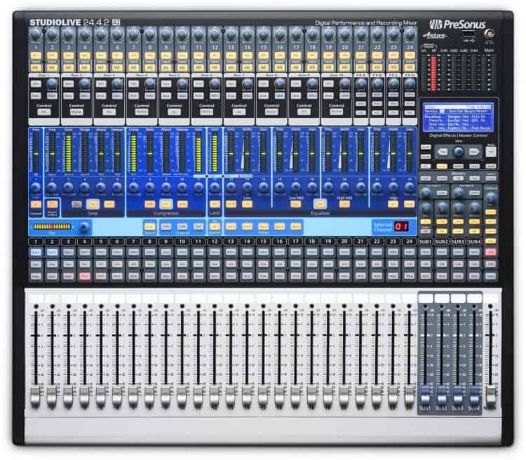 Band Recording - Mischpulte in der Praxis - PreSonus StudioLive 24.4.2AI