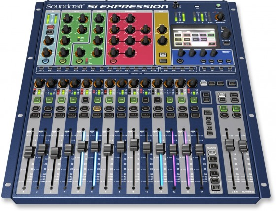 Band Recording Equipment - Soundcraft Si Expression 1