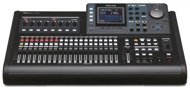 Tascam DP-32SD - Mehrspur-Recorder zur Band-Aufnahme