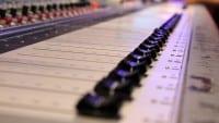 Band Recording - Mischpult - Faderbänke