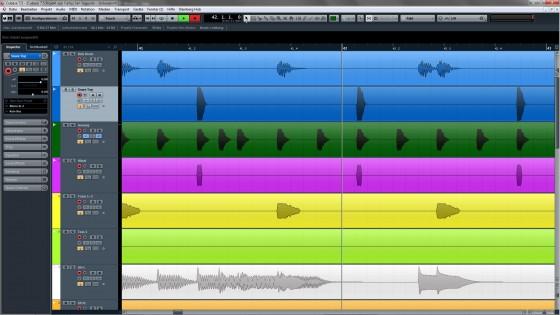 Probedurchgang Band Recording