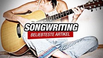 Die 7 beliebtesten Artikel zum Songwriting auf delamar