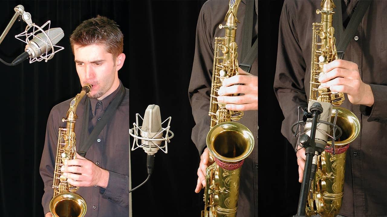 Neumann TLM-103 Saxophon