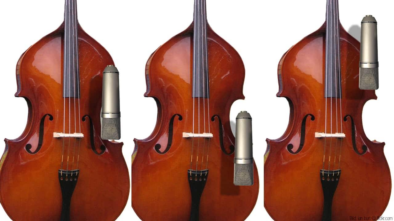 Neumann U87 Ai Double Bass Kontrabass
