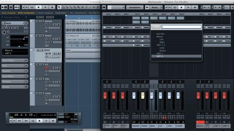 Flexibles Monitoring beim Recording per Universal Audio Apollo Twin