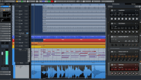Steinberg Cubase Pro 8 Project Window