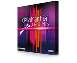 delaMartial Drums Sample Pack