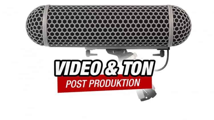 Audio Post Produktion für Film und Fernsehen