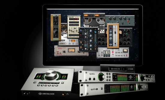 Universal Audio UAD Software 8.0 mit Apollo Expanded