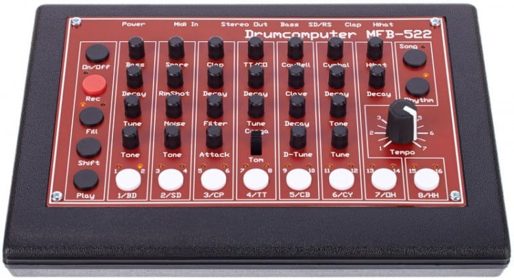 Die besten Drum Machines & Grooveboxen bis 500 Euro - MFB-522