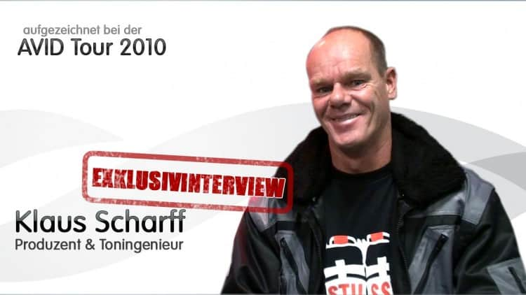 Interview Klaus Scharff