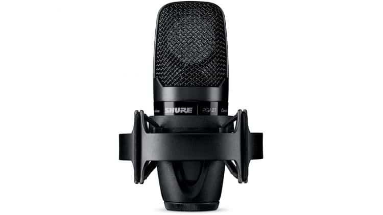 PG ALTA Mikrofone: Profi Sound, von Anfang an - Shure PGA27 mit Mikrofonspinne