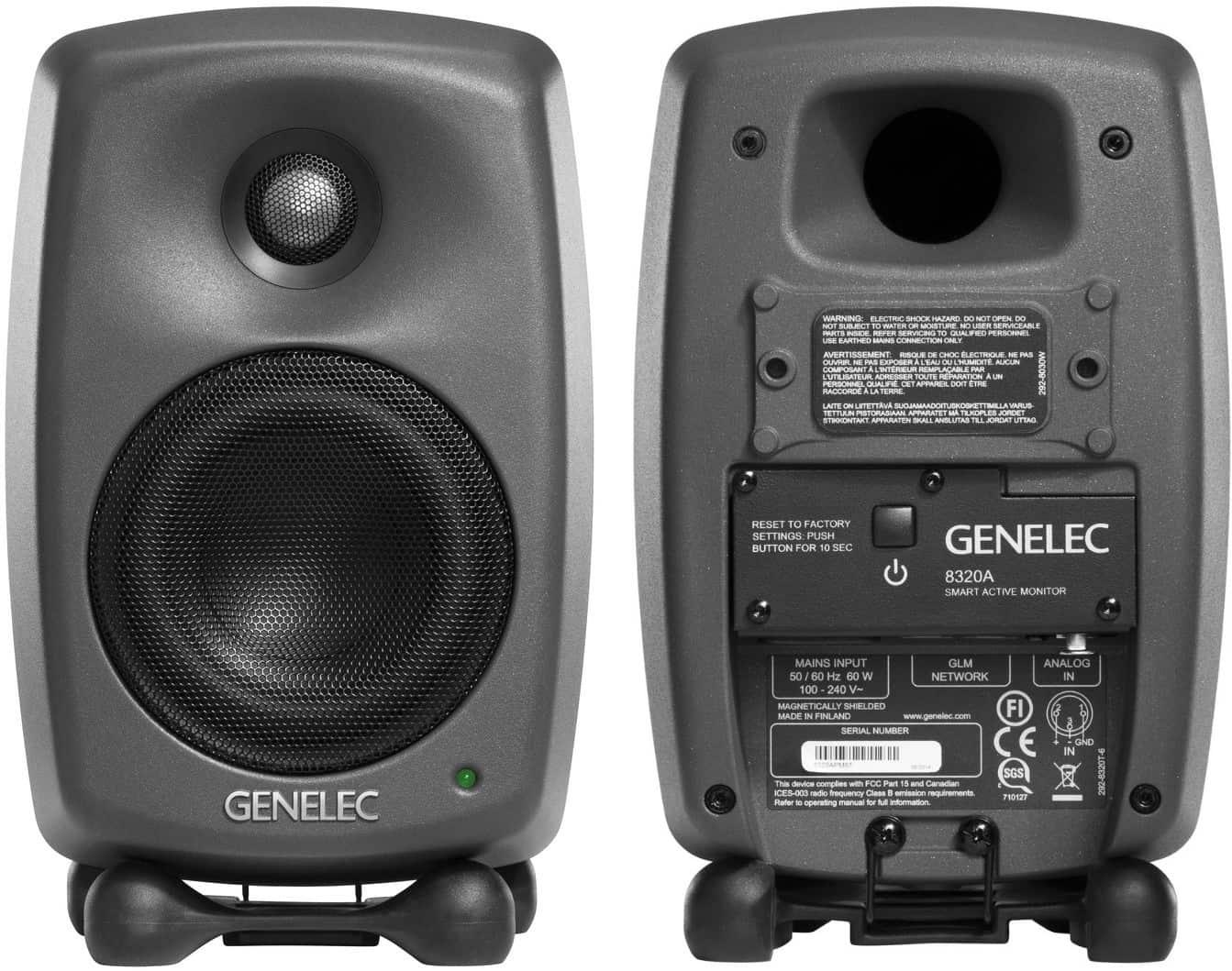 Genelec 8320AWM-Pack Testbericht ⋆ delamar.de