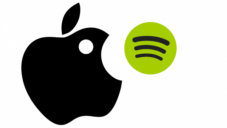 Apple macht Spotify Konkurrenz