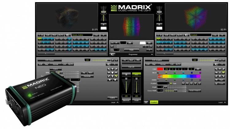 Madrix Neo - DMX-Controller Lösung